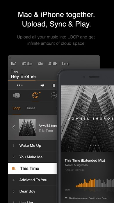 Screenshot #5 for VOX: FLAC Music Player with MP3 & Equalizer