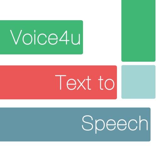 Voice4u TTS: Type / Photo to Speak in 30 Languages