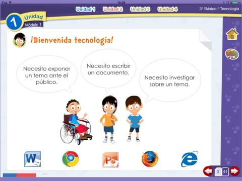 Tecnología 3º Básico screenshot 3