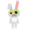Wild Rabbits Two Sticker Pack