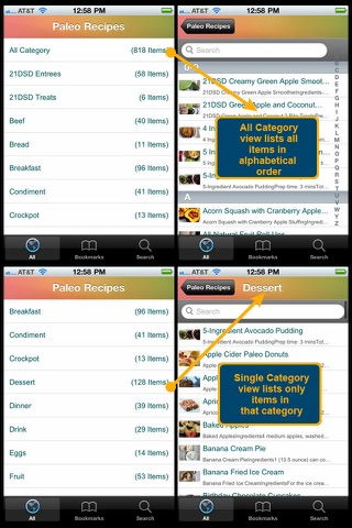 Paleo Recipes Plus+ screenshot 2