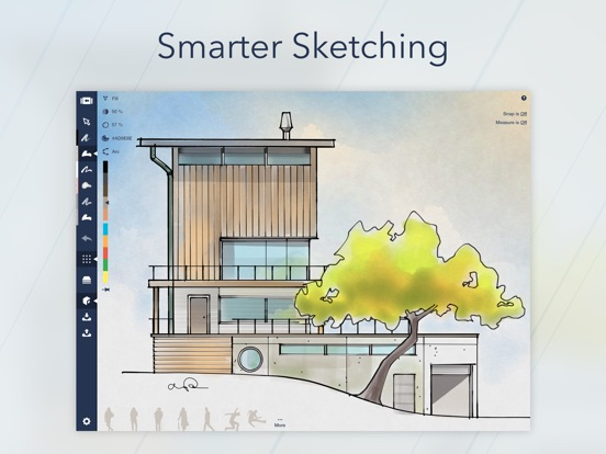 Architecture Drawing Ipad concepts - sketch, design, illustrate on the app store