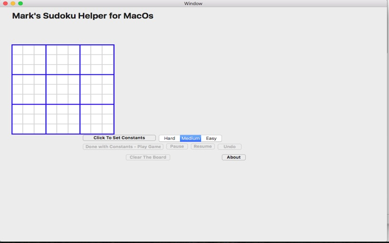 MarksSudokuHelper for Mac