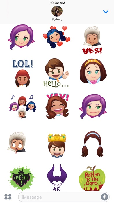 Disney Stickers Descendants On The App Store