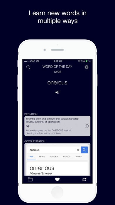 Screenshot of Word of the Day with Vernie - Learn English Daily!1