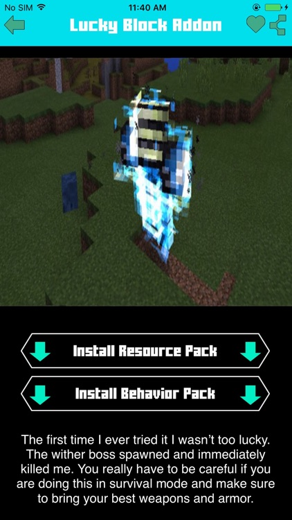 Lucky Craft Addons for Minecraft PE !! by Thai Quoc