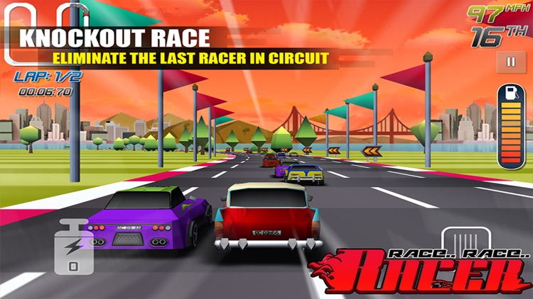 race race racer fun car racing games for kids