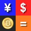 ビットコイン電卓/ レート取得&電卓