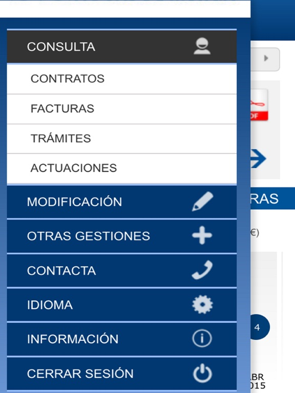 Sorea oficina virtual en el app store for Endesa oficina virtual