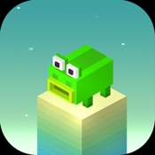 Cubic Frog Colorful City Dasher
