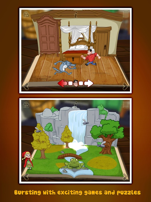 Grimm's Red Riding Hood ~ 3D Pop-up Book Screenshots