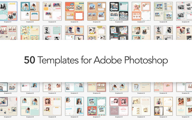 Photo Album Expert - Templates for Adobe Photoshop Screenshot