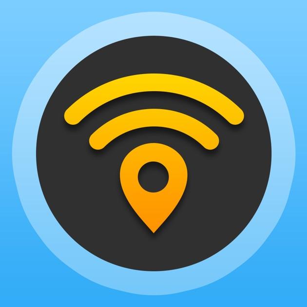 Wifi приложение map pro