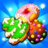 Cookie Sweet Blast - Yummy Gummy Match 3 Game