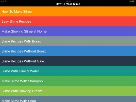 How to make slime diy slime making for kids on the app store ipad screenshot 1 ccuart Images