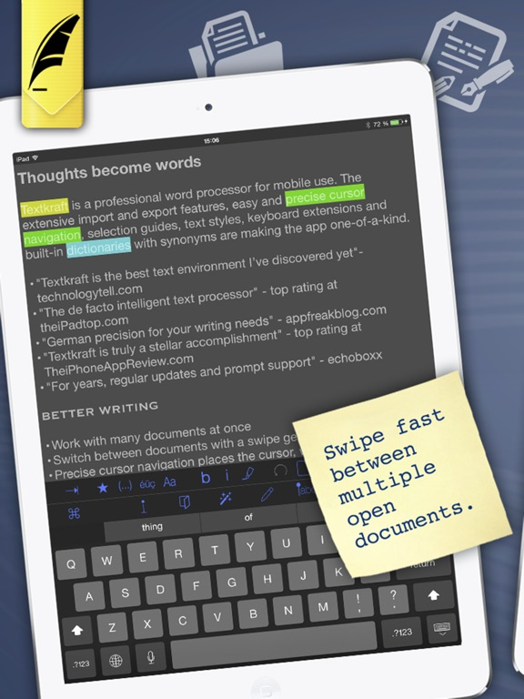 Textkraft English - Write, Research & Correct Screenshots