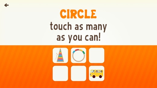 Toddler Learning Games Ask Me Color & Shape Games Screenshot