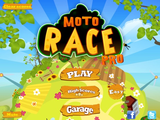 Screenshot #1 for Moto Race Pro