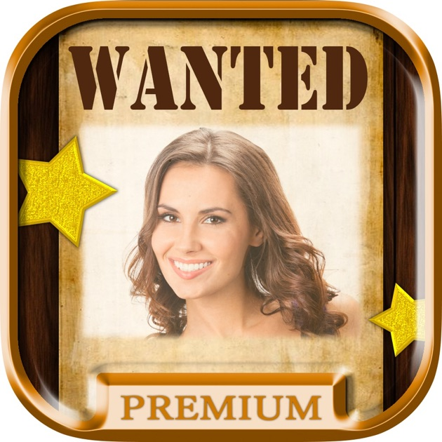 wanted poster maker and western photo editor pro on the app store. Black Bedroom Furniture Sets. Home Design Ideas
