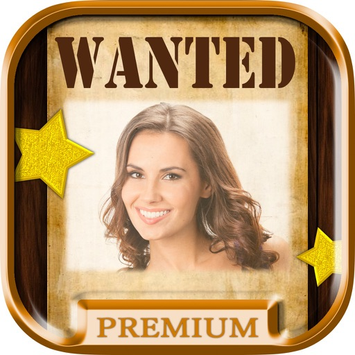 wanted poster maker and western photo editor pro by intelectiva soluciones innovadoras. Black Bedroom Furniture Sets. Home Design Ideas