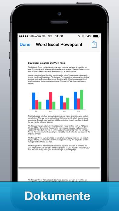 Screenshot von File Manager Pro App2