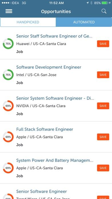 Screenshot of RiseSmart: Job Search and career transition2