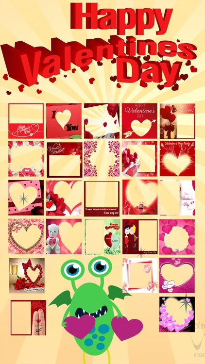 Love Wishing Card Picture Frames For Valentine Day By Nazmul Huda