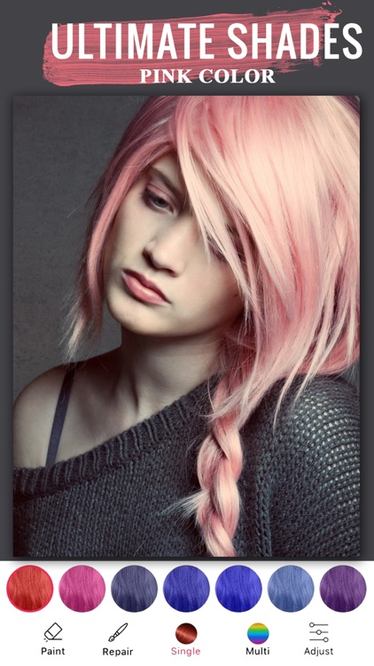 Best Hair Color Changer App-hair color dye app by satender verma