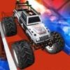Police Monster Truck Wheelies