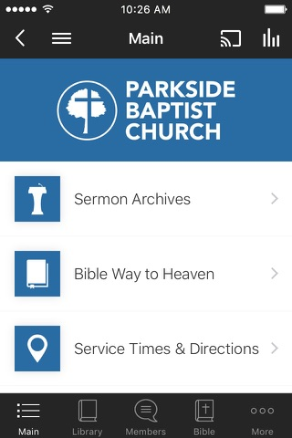 Parkside Baptist Church screenshot 1