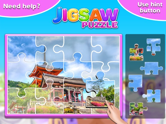 Screenshot #4 for Princess Castle Jigsaw Puzzle - Jiggy Puzzle Pack