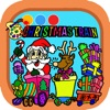 Coloring Game Merry Christmas Day For Kids