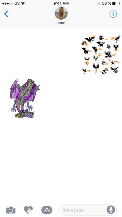 Дракон Два наклейки обновленияСкриншоты 2