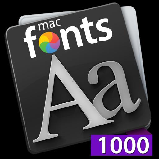 macFonts 1000 Purple