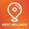 West Midlands, Großbritannien - Offline-Auto GPS Wiki