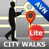 Avignon Map and Walks