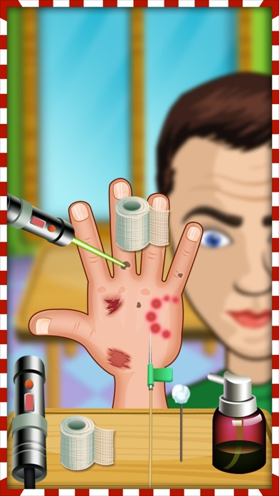 download navidad celebridad mano médico y cambio de imagen apps 0