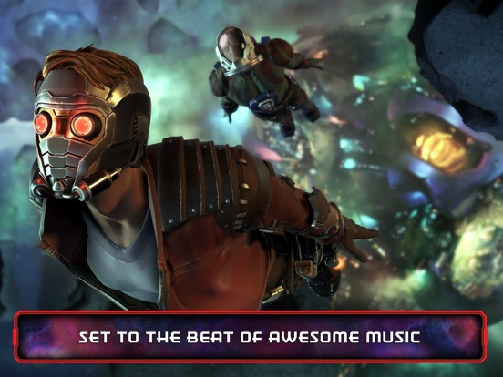 Guardians of the Galaxy TTG Screenshots