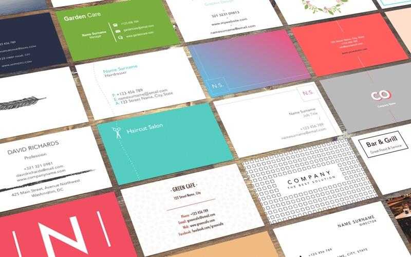 Business Card Studio - 100+ Templates for Word 앱스토어 스크린샷