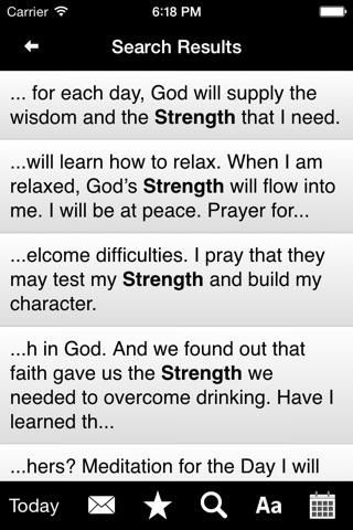 Twenty-Four Hours a Day: Recovery Meditations screenshot 4