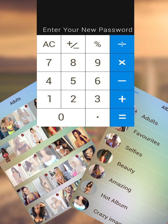 Calculator Safe Vault - Store your privates Скриншоты9