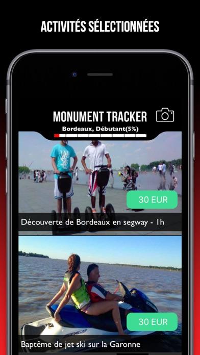 Paris guide voyage Monument Tracker carte offlineCapture d'écran de 5