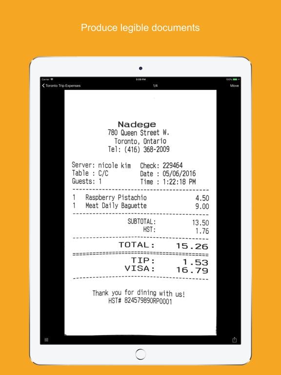 Screenshots for Genius Scan - PDF Scanner