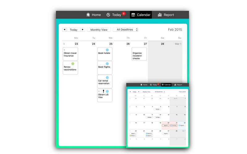 Tempodo: To-Do List Screenshots