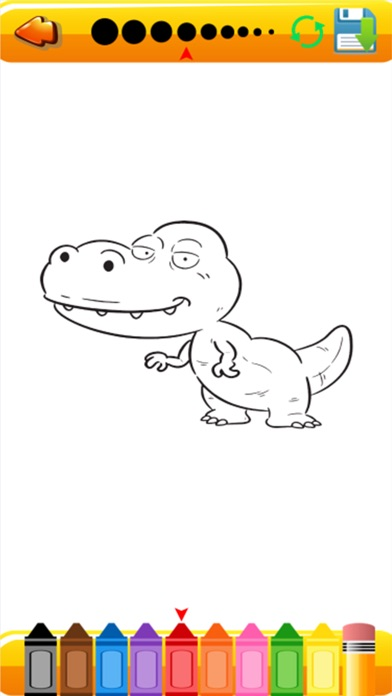 Coloring Book Dinosaurs For Kids On The App Store