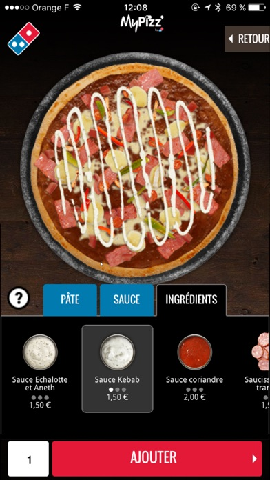 download Domino's Pizza France apps 0