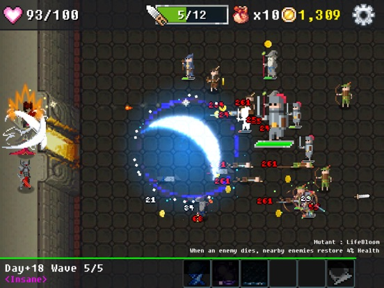 Screenshot #4 for Dungeon Defense : The Invasion of Heroes