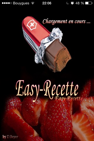 Easy-Recette screenshot 1