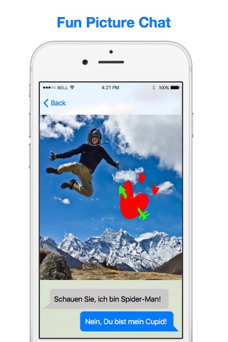 picsCast - Show Photos, Chat and Draw together screenshot 1