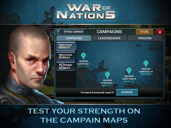 Игра War of Nations™ - PVP Strategy